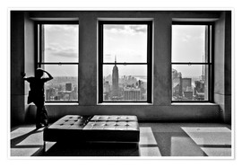 Póster Premium  New York, Top of the Rock - Thomas Splietker