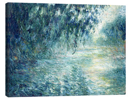 Quadro em tela  Morning on the Seine - Claude Monet