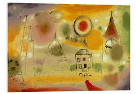 Quadro em PVC  Winter Day Just Before Noon - Paul Klee