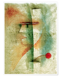 Póster Premium  Portr.of a Costumed Man - Paul Klee