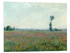 Quadro em PVC  Field with poppies - Claude Monet
