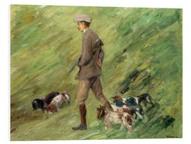 Quadro em PVC  Hunter in the Dunes - Max Liebermann