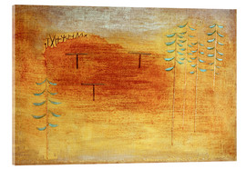 Quadro em acrílico  Place of the appointment - Paul Klee
