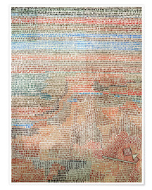 Póster Premium  the whole dawning - Paul Klee