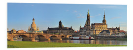 Quadro em PVC  Dresden Canaletto view - FineArt Panorama