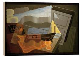 Quadro de madeira  View of the Bay - Juan Gris