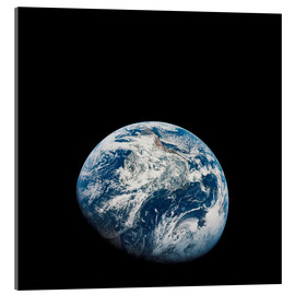 Quadro em acrílico  Earth from the viewpoint of Apollo 8