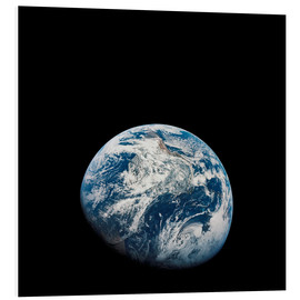 Quadro em PVC  Earth from the viewpoint of Apollo 8