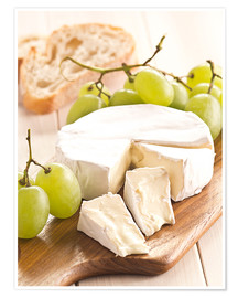Póster Premium  French soft cheese - Edith Albuschat