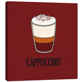 Quadro em tela  Cappuccino, for the italian lover in you! - JASMIN!
