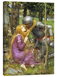 Quadro em tela  A study for La Belle Dame sans Merci - John William Waterhouse
