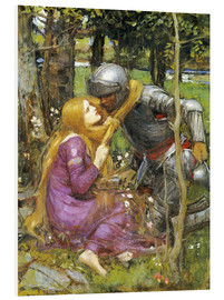 Quadro em PVC  A study for La Belle Dame sans Merci - John William Waterhouse