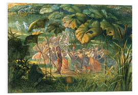 Quadro em PVC  Fairy Dance in a Clearing - Richard Doyle