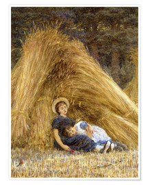 Póster Premium  Past Work - Helen Allingham