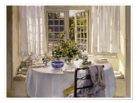 Póster Premium The Morning Room, 1916