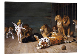 Quadro em acrílico  Whoever you are, Here is your Master - Jean Leon Gerome
