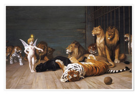 Póster Premium  Whoever you are, Here is your Master - Jean Leon Gerome