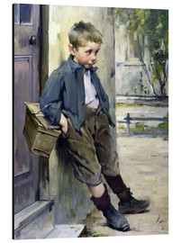 Quadro em alumínio  Out of the Game - Henri Jules Jean Geoffroy