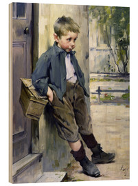 Quadro de madeira  Out of the Game - Henri Jules Jean Geoffroy