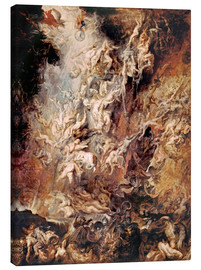 Quadro em tela  The descent into hell of the damned - Peter Paul Rubens