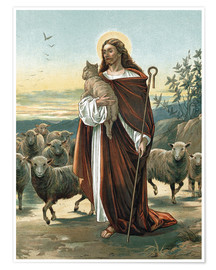 Póster Premium  The good shepherd - John Lawson