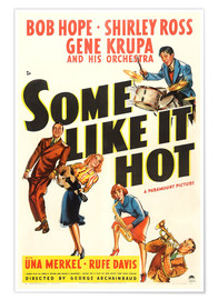 Póster Premium  Some Like It Hot