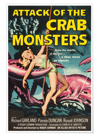 Póster Premium  Attack of the Crab Monsters