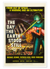 Póster Premium  The Day the Earth Stood Still