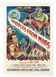 Póster Premium  Invaders from Mars