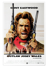 Póster Premium  The Outlaw Josey Wales