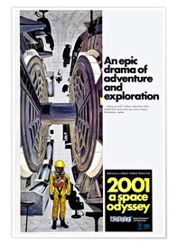 Póster Premium 2001: A SPACE ODYSSEY
