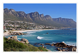 Póster Premium  Camps Bay, Cape Town, South Africa - wiw