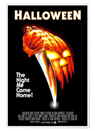 Póster Premium  Halloween - The night he came home