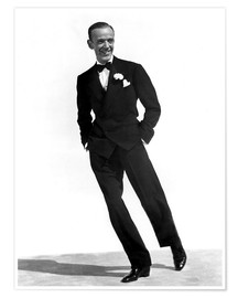 Póster Premium  Fred Astaire