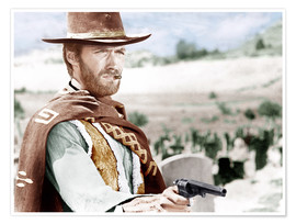 Póster Premium  The Good, the Bad and the Ugly