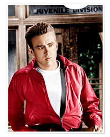 Póster Premium REBEL WITHOUT A CAUSE, James Dean, 1955