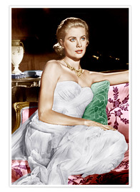 Póster Premium  To Catch a Thief, Grace Kelly, 1955