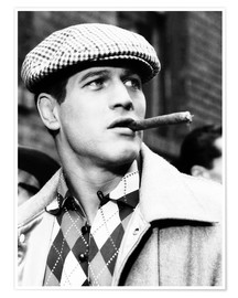 Póster Premium  SOMEBODY UP THERE LIKES ME, Paul Newman