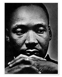 Póster Premium  Martin Luther King Jr.