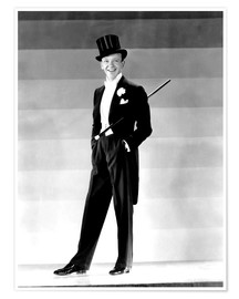 Póster Premium  Fred Astaire in 1930