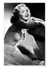 Póster Premium  ALL ABOUT EVE, Marilyn Monroe