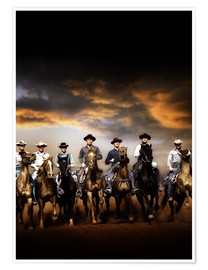 Póster Premium  THE MAGNIFICENT SEVEN