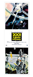 Póster Premium  2001: A Space Odyssey 1968