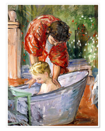 Póster Premium The Bath (Le Bain)