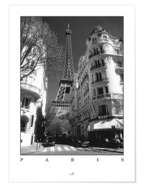 Póster Premium  Paris - ARTSHOT - Photographic Art