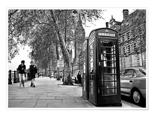 Póster Premium Streets of London
