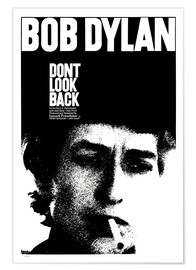 Póster Premium DON'T LOOK BACK
