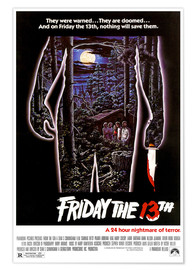 Póster Premium FRIDAY THE 13TH