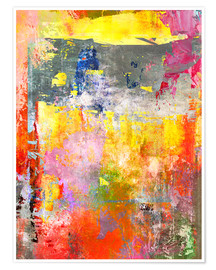 Póster Premium  Abstrato n° 101 - Wolfgang Rieger