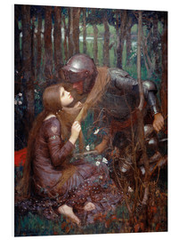 Quadro em PVC  La Belle Dame sans Merci - John William Waterhouse